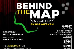 behind the map
